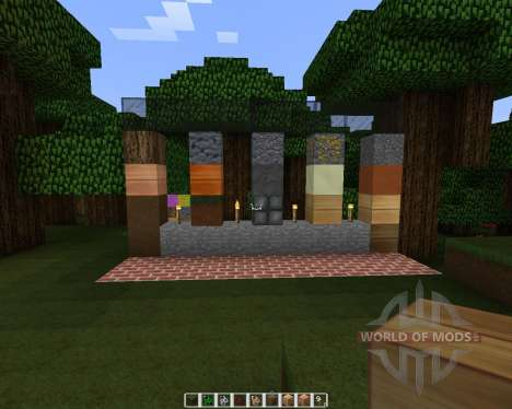 Embossed [32x][1.7.2] for Minecraft