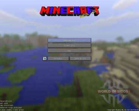 GUI [64x][1.7.2] for Minecraft