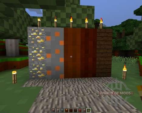 4 bit pack [8x][1.7.2] for Minecraft