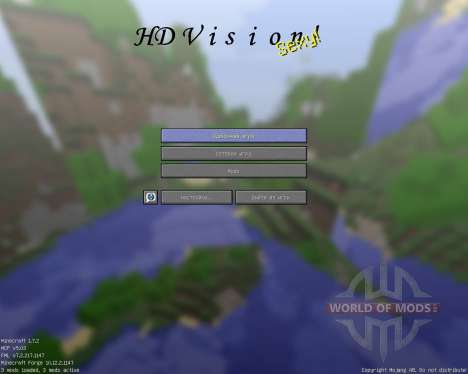 HD Vision [32x][1.7.2] for Minecraft