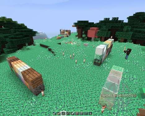 Alvorias Mint Flavor [64х][1.8.1] for Minecraft