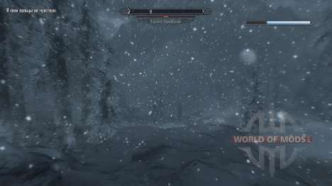 Freeze - salvation in the camp [2.6] for Skyrim sixth screenshot