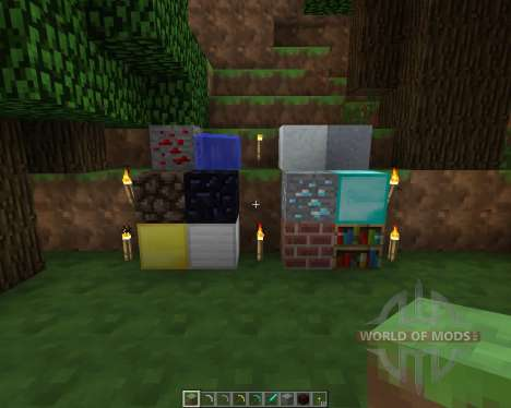 Smoothed Out Resource Pack [16x][1.7.2] for Minecraft