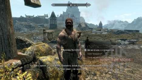 Vilja in Skyrim [4.01] for the third Skyrim screenshot