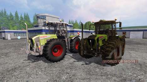 CLAAS Xerion 3800 Trac VC [clean and dirty] for Farming Simulator 2015