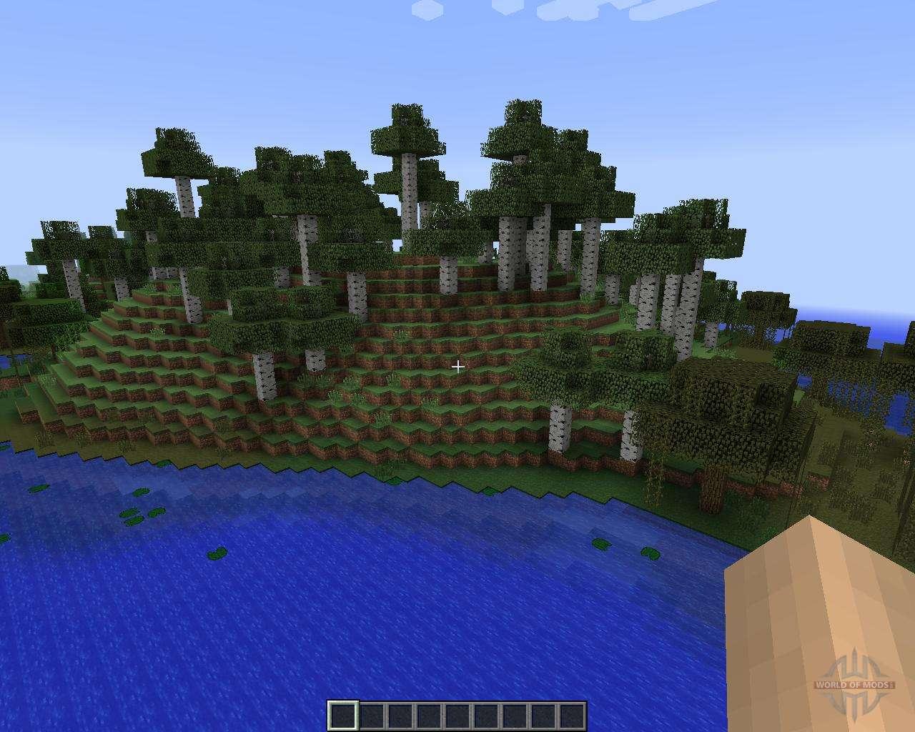 Alternate Terrain Generation [1 7 2] for Minecraft
