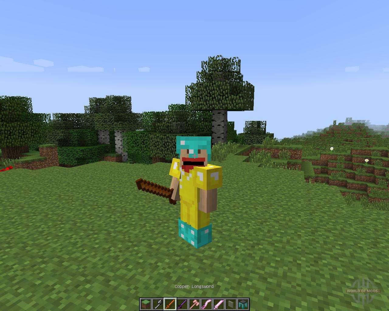 Скачать бесплатно Tinkers' Construct мод для Minecraft 1.7 ...
