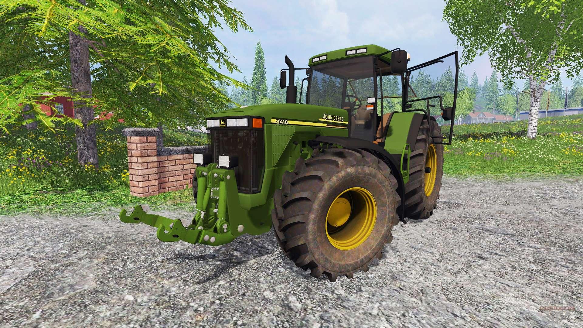 John deere 8410 v1 2 for farming simulator 2015 for 8410 3