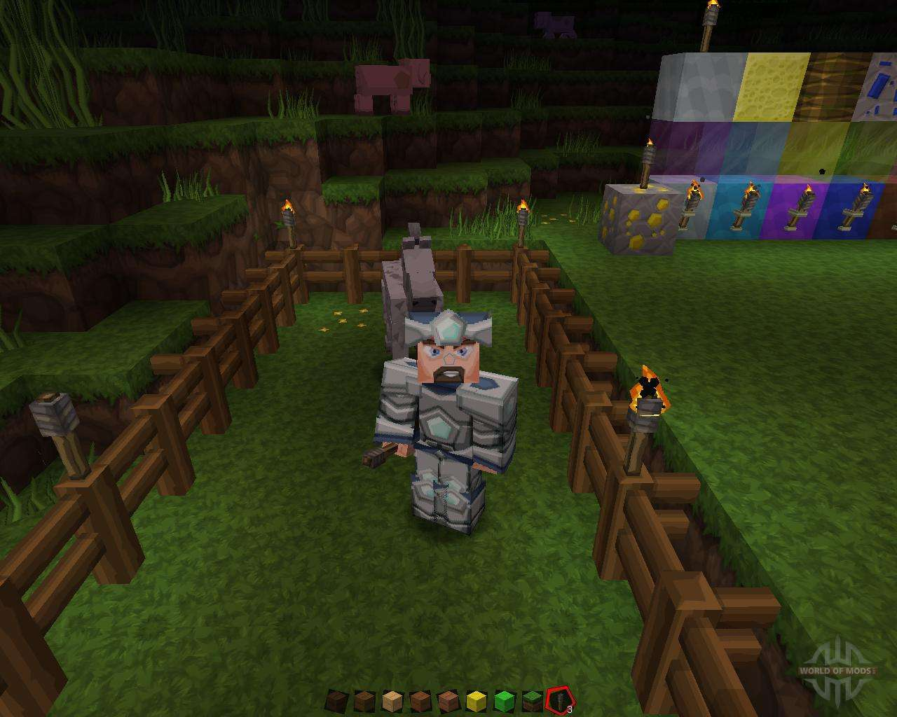 Sphax PureBDCraft 128x1.8.1 for Minecraft