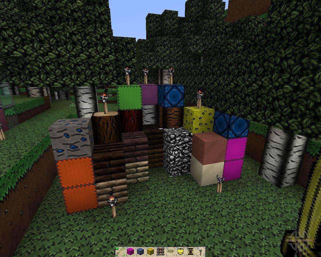 пакеты текстур на майнкрафт 1.7.2 #1