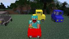 Cars and Drives [1.7.2] for Minecraft