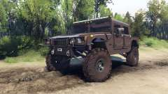 Hummer H1 metalic pewter for Spin Tires
