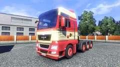 Skin Torben rafn on the truck MAN for Euro Truck Simulator 2