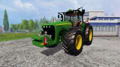 John Deere 8520 [plowing] for Farming Simulator 2015