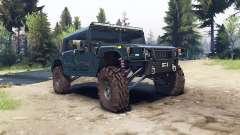 Hummer H1 ocean blue for Spin Tires