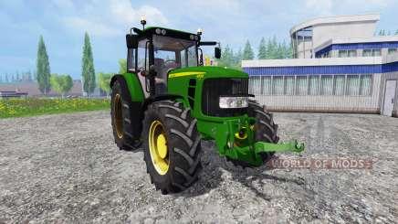 John Deere 6830 Premium FrontLoader for Farming Simulator 2015