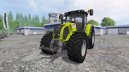 CLAAS Axion 850 v4.0 for Farming Simulator 2015