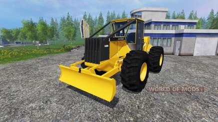 John Deere 648G v1.1 for Farming Simulator 2015