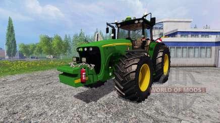 John Deere 8520 [plowing] for Farming Simulator 2015