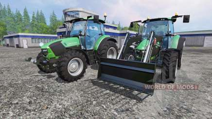 Deutz-Fahr 5130 TTV v2.0 for Farming Simulator 2015