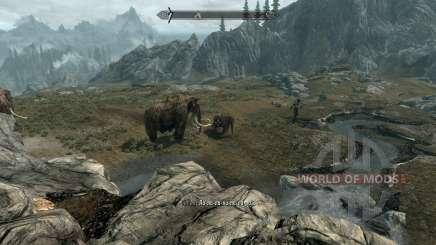 Realistic animals and predators [1.38] for Skyrim