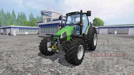 Deutz-Fahr Agrotron 120 Mk3 v2.0 for Farming Simulator 2015
