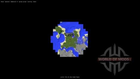 MapWriter [1.6.4] for Minecraft