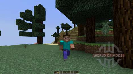 Animated Player [1.7.10] for Minecraft