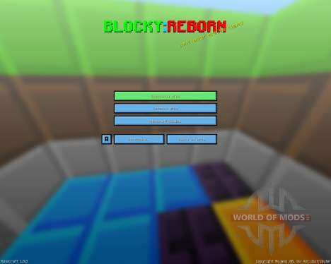 Blocky: Reborn [8x][1.8.8] for Minecraft