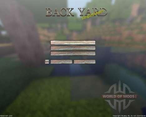 BackyardCraft [128x][1.8.8] for Minecraft