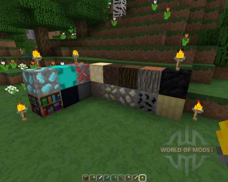 Smoothtex Resource Pack [16x][1.8.8] for Minecraft