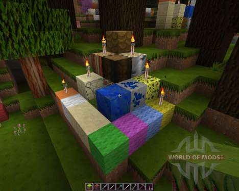 Sketch Hand Drawn HD Resource Pack [128x][1.8.8] for Minecraft