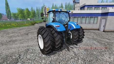 New Holland T6.175 twin wheels for Farming Simulator 2015