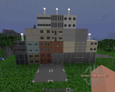 ASLs Mini City Texture Pack [32x][1.8.1] for Minecraft