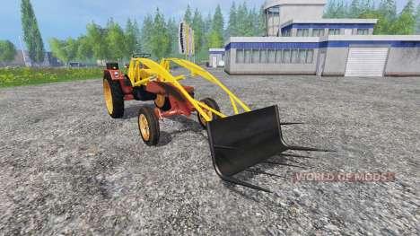 Fortschritt GT 124 frontlader fix for Farming Simulator 2015