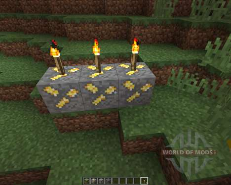 Realistic Ores [16x][1.8.8] for Minecraft