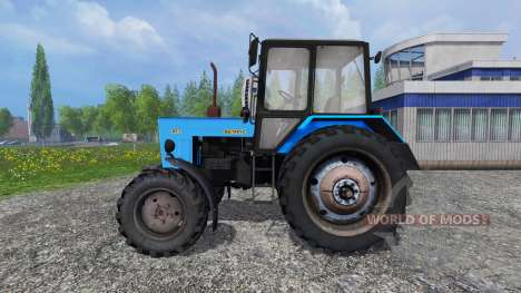 MTZ-82.1 Belarusian v2.0 for Farming Simulator 2015