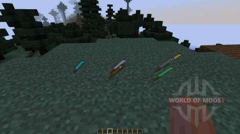Machetes [1.7.2] for Minecraft