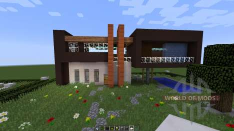 Slandot Modern House [1.8][1.8.8] for Minecraft