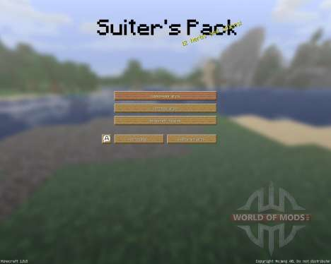 The Suiters Resource Pack [16x][1.8.8] for Minecraft