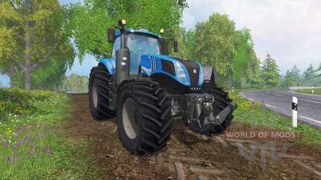 New Holland T8.320 v2.3 for Farming Simulator 2015