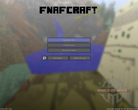 Noahs Fnafcraft Resource Pack [16x][1.8.1] for Minecraft