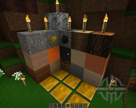 Detailed Realism [128x][1.8.1] for Minecraft