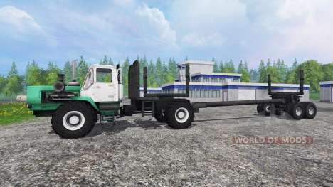 T-150K timber for Farming Simulator 2015