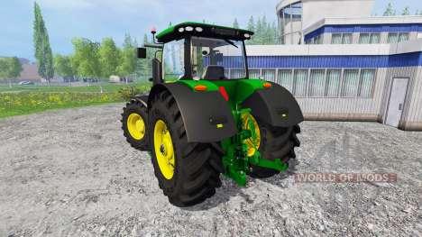 John Deere 7290R and 8370R v0.2 for Farming Simulator 2015