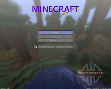 Sorogons Resource Pack [64x][1.8.1] for Minecraft