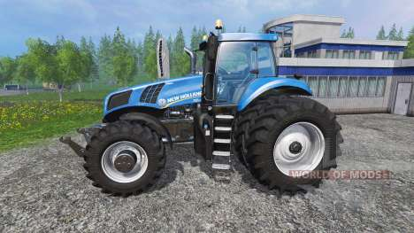 New Holland T8.275 Twin Wheels for Farming Simulator 2015