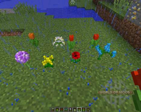 3D NATURE PACK v2.2 [16x][1.8.1] for Minecraft