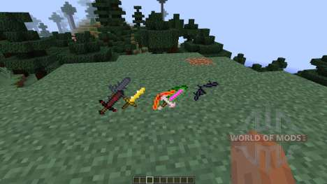 Swords of Israphel [1.7.10] for Minecraft