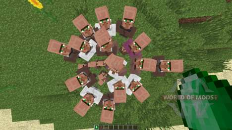 Villagers Need Emeralds [1.7.2] for Minecraft